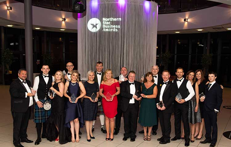 The Northern Star Business Awards winners