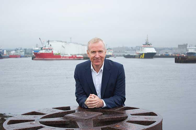 Allan Merritt, managing director of Aberdeen-based Arnlea