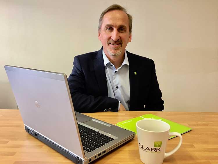 Austen Clark, managing director of Clark Integrated Technologies