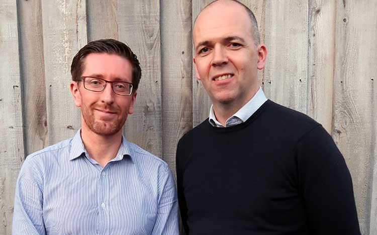 From left - Ian McGregor and Mark Dellaquaglia