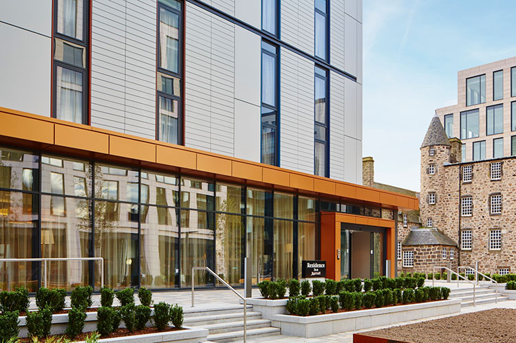 Aberdeen's Residence Inn by Marriott hotel