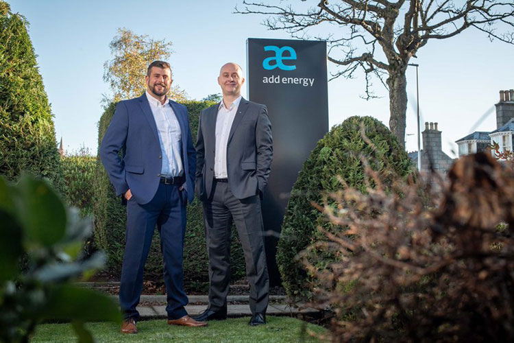 Jody Lusher, operations manager and Damon Bowler, vice president of Add Energy's Asset and Integrity Management division