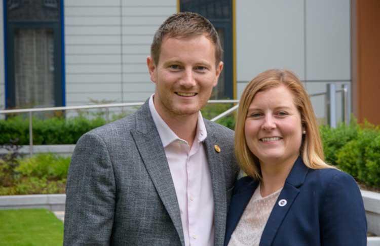 Bryan and Angela Kinghorn