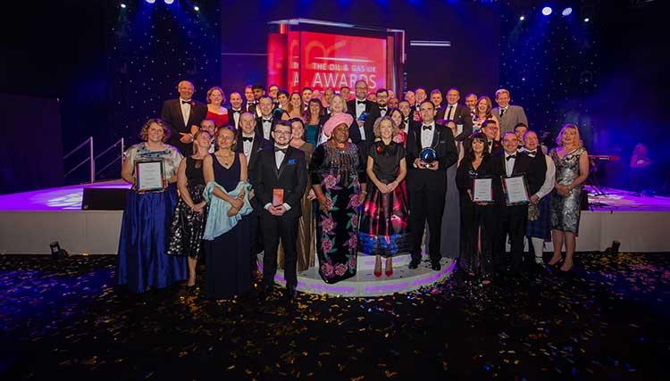 The Oil & Gas UK Awards winners