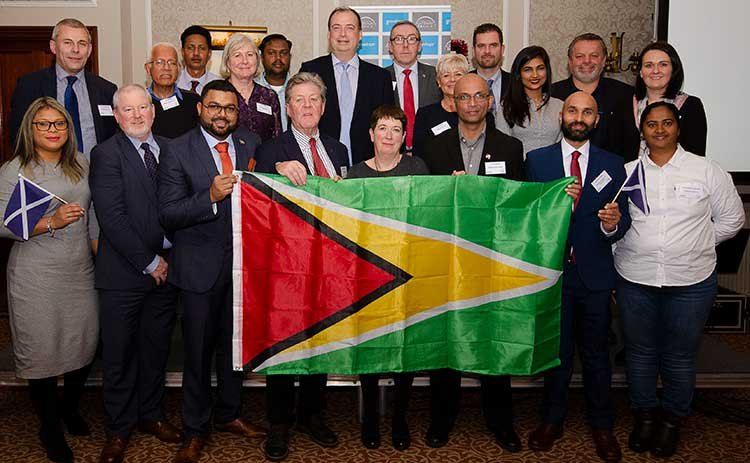 Speakers and visiting delegates at the Aberdeen-Guyana Gateway