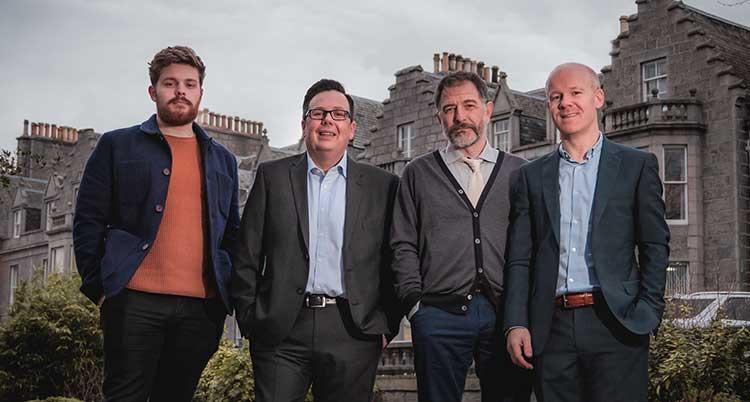 From left - Jack Haggerty, Neil McKechnie, Mark Turner and Jamie Baikie