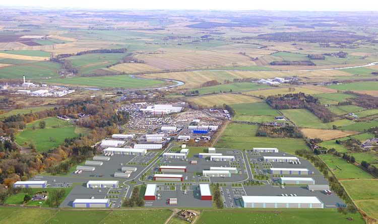 Thainstone Aerial View CGI