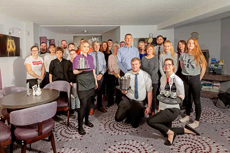 Staff at The Priory Hotel