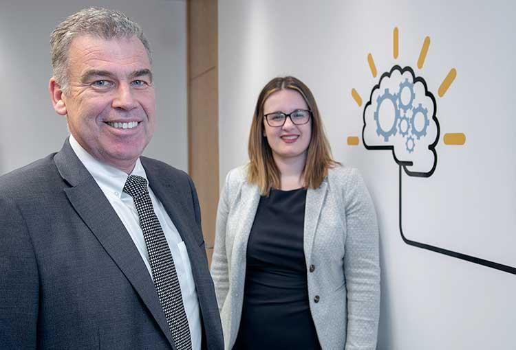 AAB Partner Robbie Gordon and Lauren McIlroy