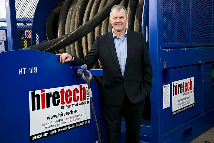 Andy Buchan, Managing Director, Hiretech Limited