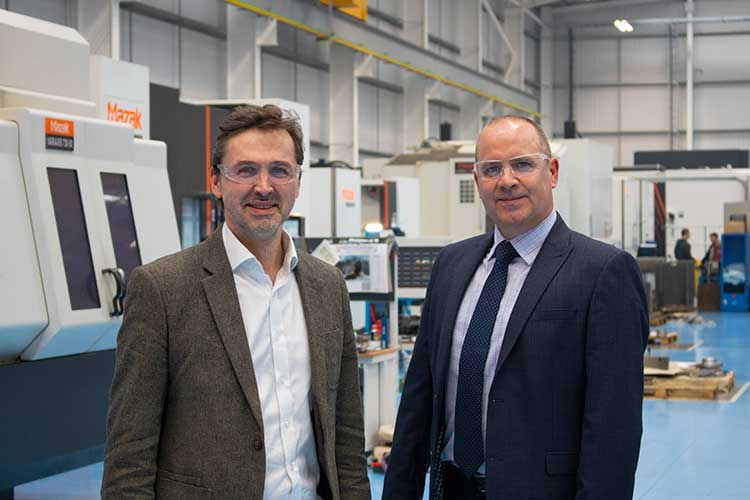 Pryme Group CEO Angus Gray (left) and SengS managing director David Benison