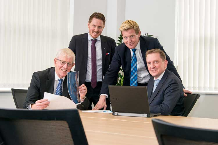 Ian Sharp, Chairman Odd Magne Grøntvedt, Finance Director Graeme Fergusson, Managing Director Ronald van Waaijen, Commercial Director