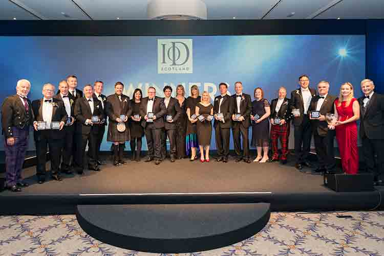 IoD Scotland Director of the Year Awards Winners 2019