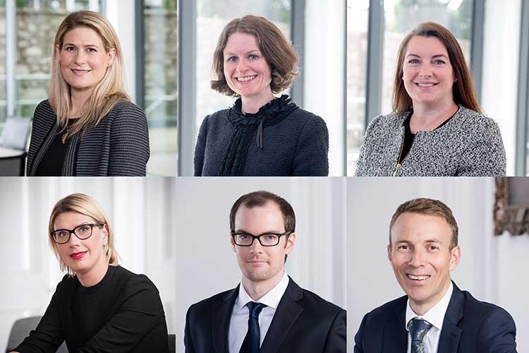 Top (L-R) Rhona McFarlane, Leigh Gould, Fiona Herrell; Bottom (L-R) Lucy McCann, Chris Duff, Graeme Leith