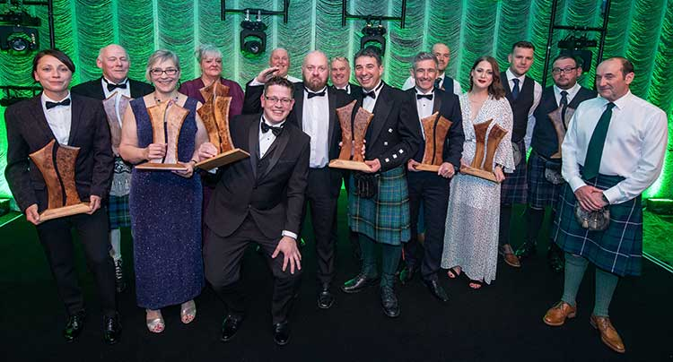 The winners of the Trades Awards 2017