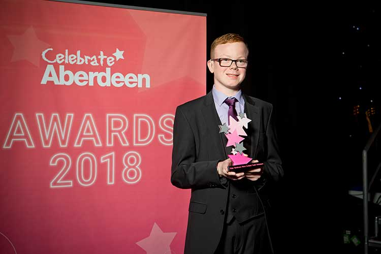 Dylan Henderson, Police Scotland Youth Volunteers, 2018 Young Supporter of the Year