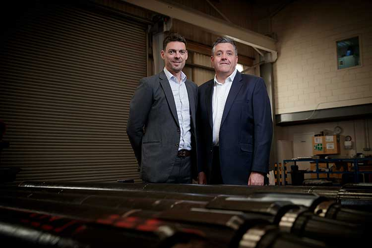 (L to R) David Stephenson, CEO of DCT and Steve Kent, COO of DCT