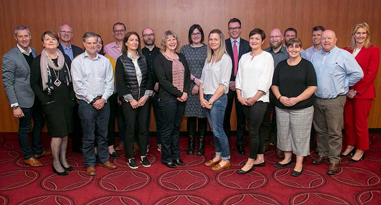 ONE and SE Tourism Business Game Changer companies including Chris Foy, VisitAberdeenshire, Elaine Booth, Scottish Enterprise and Jennifer Craw, ONE