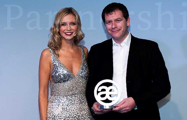 Rachel Riley and Simon Cowie of Infinity Partnership