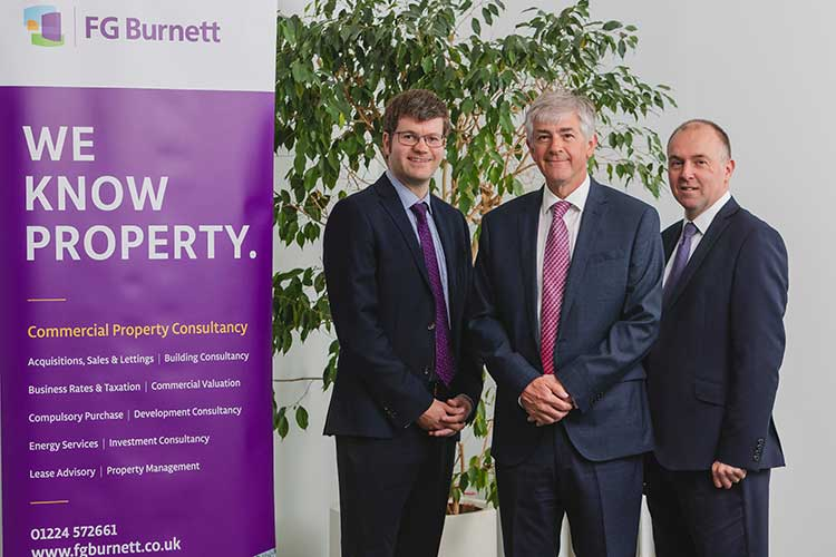 From left to right - Richard Foster (Director & Head of Rating), Richard Noble (Managing Director) and Graeme Watt (Director).