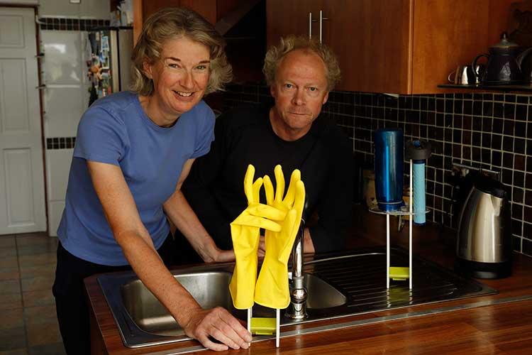 Helen Robbins and Graham Osler