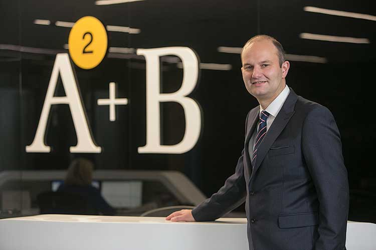 Douglas Martin, head of corporate finance at AAB