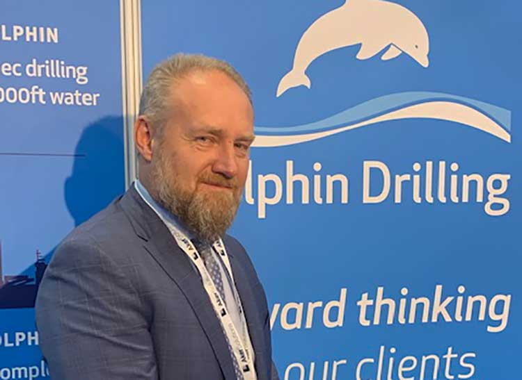 Hello Mike, That's no problem at all! Please see attached a picture of Bjørnar Iversen, Chief Executive Officer of Dolphin Drilling
