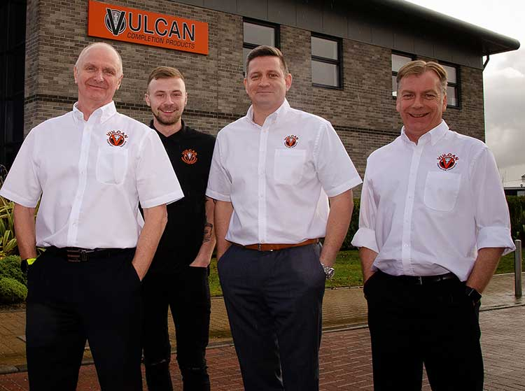 Ian Kirk, Nathan Kirk, Mark Dundee, Andy Kirk - Vulcan Completion Products