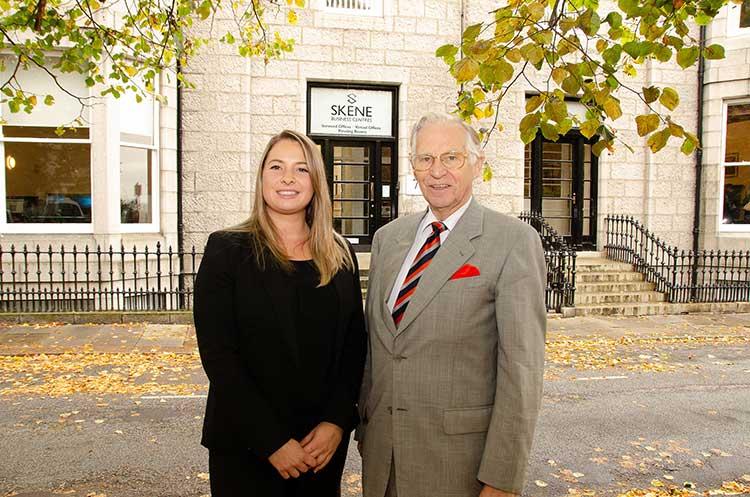 Maeghan Cuthill and Charles Skene