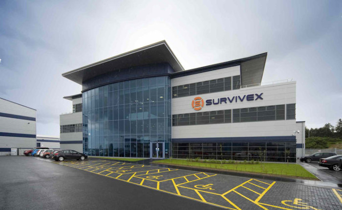 The Survivex Dyce headquarters, part of the 3t Energy Group