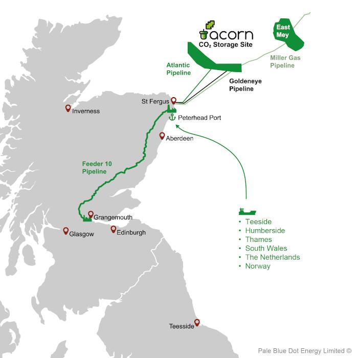 Acorn project map