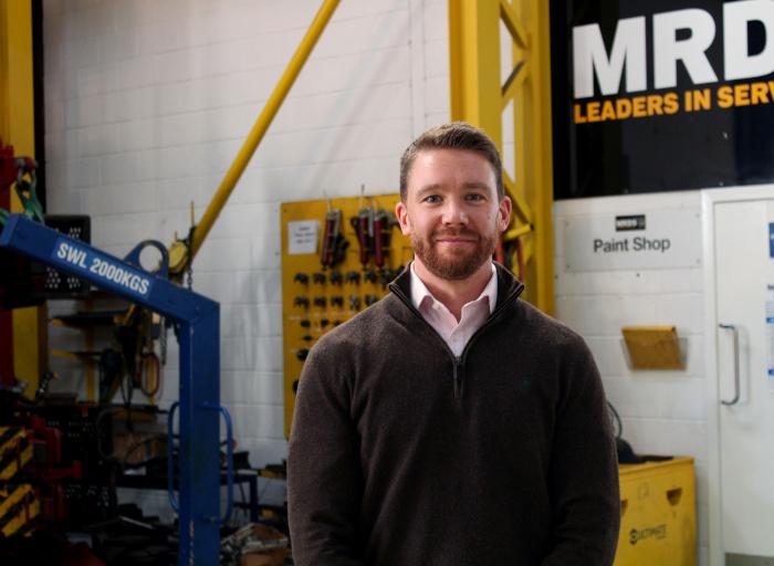 Phillip MacDonald, MRDS Asset Integrity manager