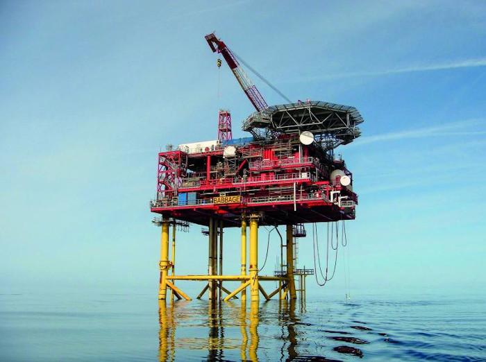 Premier Oil UK Babbage platform