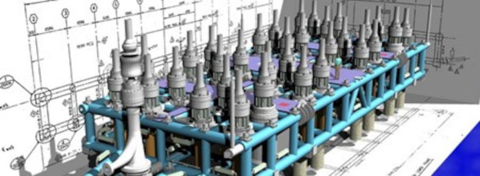 Computer generated subsea template image from Zenocean website