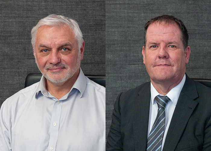L-R Shaun Cooper and James Farquhar from Maritime Developments (MDL)